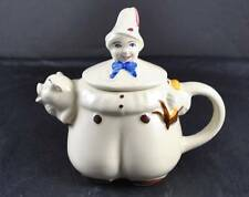 Vintage Shawnee Pottery Porcelain Ceramic Teapot Tea Pot Tom The Piper's Son