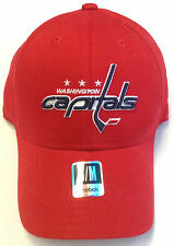 NHL Washington Capitals Reebok Platinum Series Flex Cap Hat NEW