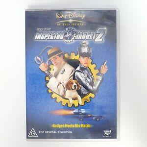 Inspector Gadget 2 Movie DVD Region 4 AUS Free Postage - Kids Action