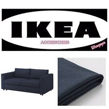 IKEA VIMLE Slipcover Cover for loveseat section ORRSTA Black Blue WITH ARMRESTS