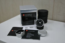 Leica Summarit-M 35mm, f 2,4 ASPH, Silver, 11679