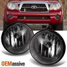 Smoked Fits 2005-2011 Toyota Tacoma Bumper Fog Lights Lamps w/Bulb/Switch LH+RH
