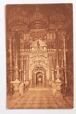 Postcard Interior of the Church of the Holy Sepulchre, Jerusalem, Jamal Bros.