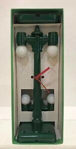 Kramer Double Bulb Street Lamps KP-001 Bulbs Down Green Metal 2-Pack MINT