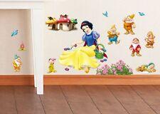 Disney Princess Wall Decor Vinyl Sticker Decal Removable Nursery Art Girls Mural