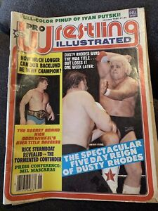Pro Wrestling Illustrated PWI January 1980 Dusty Rhodes Bob Backlund