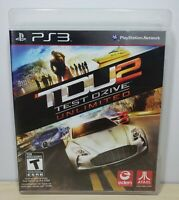 Test Drive Unlimited 2 - Sony PlayStation 3, 2011 - Complete