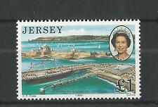 JERSEY 1989 ROYAL VISIT SG,500 UM/M N/H LOT R55