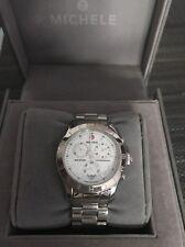 100% Authentic MICHELE MW SPORT Chronograph  Women's Watch Model # MW03Q00A0001