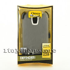 Otterbox Defender Hard Shell Case Snap Cover for Samsung Galaxy S4 (Black) Used