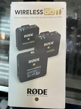 New listing Rode Microphones Wireless GO II Dual Channel Wireless Microphone System