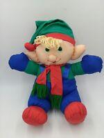 "TB Trading Co. PUFFY NYLON SANTA'S ELF 15"" Stuffed Figure"