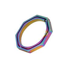 Alloy Titanium Colorful EDC Keychain Keyring Outdoor Tool Climbing Buckle