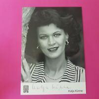 ☆☆☆ Katja Künne - Original signierte Autogrammkarte, handsigniert, TOP ☆☆☆
