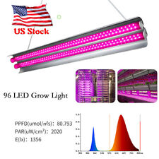 2000W Led Grow Lights Hydroponic Full Spectrum Indoor Plant Flower Bloom Tube Us