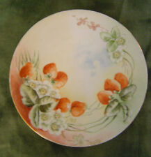 J.P. Limoges Hand Painted Plate signed M. Harris