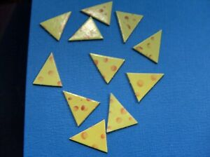 Mouse Trap Game   Replacement Cheese Pieces  10 PIECES