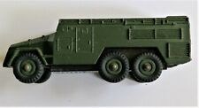 Dinky 677 WW2 AEC 7th Armoured Division Command Vehicle good, original box worn