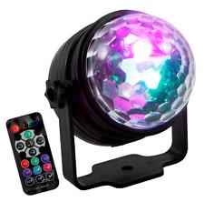 LED-Lichteffekt HOLLYWOOD ''LE-025'' 7 Farben, 4 Helligkeiten, Musikgesteuert