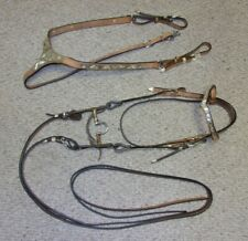 SHOWMAN Classic en cuir Poco style bride et rênes cheval Tack Equine