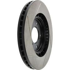 BRAKENETIC SPORT Drilled Slotted Brake Disc Rotors BSR74341 FRONT + REAR
