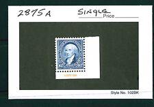 US Scott # 2875a, 1994 BEP / Centennial Madison, Single, Mint NH