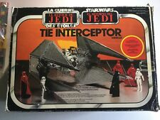 Star wars intercepteur tie fighter rotj palitoy boxed mib complet