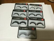 FALSE EYELASHES MAC VARIOUS STYLES  TO CHOOSE FROM PRE GLUED