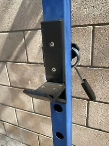 """Power Rack Attachment, J-Hooks j hooks 2 x 2 frame, 1"""" pin, heavy duty steel"""