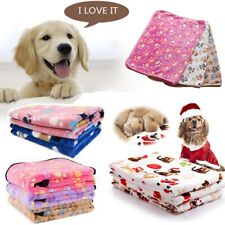Pet Fleece Blanket Dog Cat Puppy Soft Warm Bed Mat Pad Cover Cushion 52*76CM