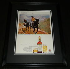 1968 Canadian Club Whisky Grand Canyon 11x14 Framed ORIGINAL Advertisement B