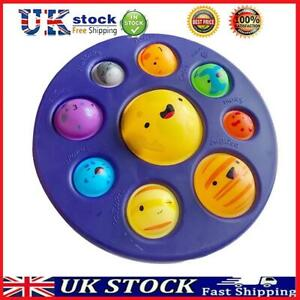 Silicone Planet Dimple Fidget Autism Toy Stress Reliever Kid Fat Brain Tool T#K