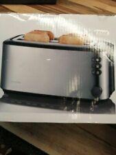 SEVERIN AT 2509 Automatik-Toaster (1.400 W, 2 Langschlitzkammern, für bis zu 4 B