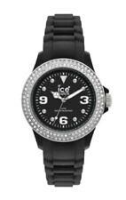 Ice Watch Uhr Stone schwarz Silver Sili Small  ST.BS.S.S.10 Schwarz mit Steine