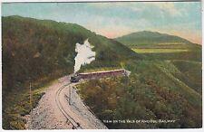 VALE OF RHEIDOL NARROW GAUGE STEAM RAILWAY - Aberystwyth - c1920s era postcard