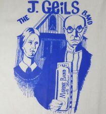 """J. Geils Band """"American Gothic"""" XL T-Shirt RARE"""