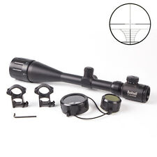 Rifle Scope 6-24x50mm AOE Elite ERS +Free 20mm Rail Illuminated New Hunting