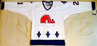 1994 Peter Forsberg Quebec Nordiques White Jersey Size Men's Medium