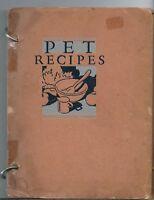 NM-074 1931 PET Milk Company Promotional PET Recipes Cookbook illustrated