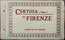 More details for florence charterhouse album of 20 views. a. rizzoli & c. milano early 1900's