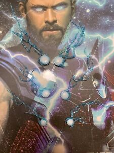 Hot Toys MMS474 Avengers Infinity War Thor 1/6 lightning effect