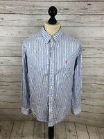 RALPH LAUREN  Shirt - Size Large - Striped - Great Condition - Men's
