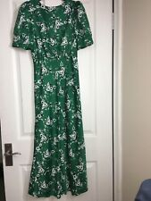Asos Green Dress Size 8 BNWOT