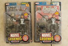 MARVEL LEGENDS SERIES IV PUNISHER Urban Legend War Zone 2 Figure LOT Boxed Set