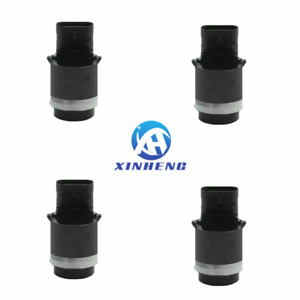 4PCS 28442-0027R PDC Parking Aid Reverse Backup Sensor Black For Renault Koleos