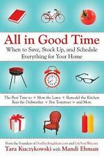 All in Good Time: When to Save, Stock Up