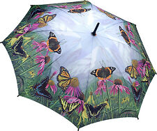 Galleria Stick Umbrella - Butterfly Mountain
