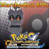 Marshadow 6IV ☀️ Non Shiny 🌙 Battle Ready 6IVs Pokemon Sun Moon Ultra SM USUM