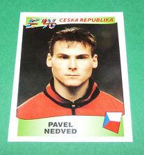 N°227 NEDVED REPUBLIQUE TCHEQUE PANINI FOOTBALL UEFA EURO 96 EUROPE EUROPA 1996