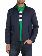 Polo Ralph Lauren Men's Blue Barracuda Quilted Jacket L